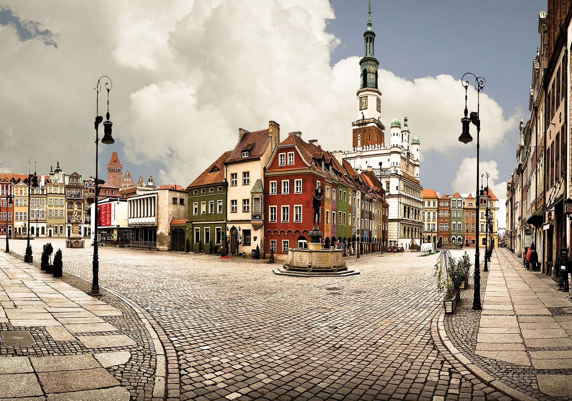 Poznan Market Panorama