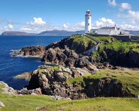 Der Fanad Head Leuchtturm, County Donegal, Irland